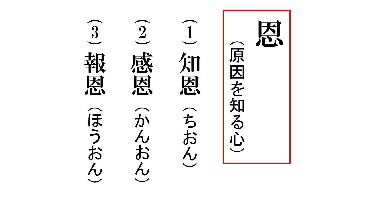 仏教辞典 | 知恩 感恩 報恩